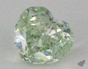 heart1.05 Carat fancy greenSI1
