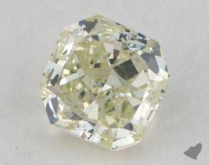 radiant0.71 Carat fancy light greenish yellow
