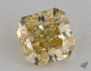 radiant1.22 Carat fancy brownish yellowSI1