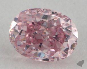 oval0.19 Carat fancy intense pink