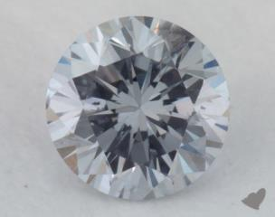 round0.20 Carat fancy light gray