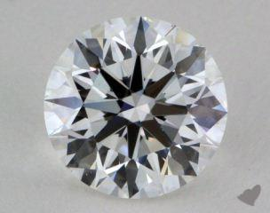 1.09 Carat E-VS1 True HeartsTM Ideal Diamond