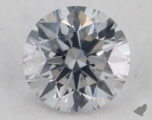 round0.21 Carat fancy light gray