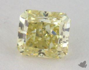 radiant0.51 Carat fancy yellowVS1