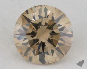 round1.13 Carat fancy brownish yellowSI2