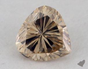 heart0.39 Carat fancy brownish yellowSI1