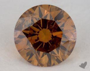 round2.46 Carat fancy deep orangeI2