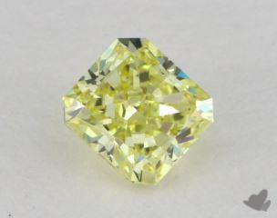 radiant0.51 Carat fancy intense yellowVS2