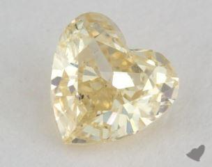 heart0.40 Carat fancy yellowVS2