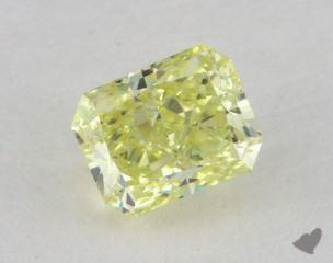 radiant0.50 Carat fancy yellowVS2