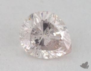 pear0.23 Carat light pinkI1