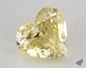 heart1.01 Carat fancy intense yellowI1