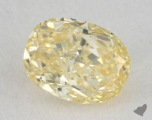 oval0.34 Carat fancy yellowSI1