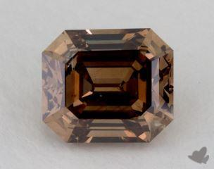 emerald2.24 Carat fancy dark orangy brownI1