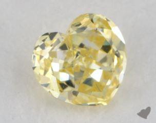 heart0.42 Carat fancy intense yellowI1