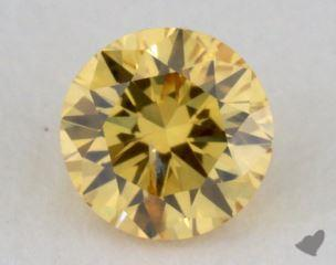 round0.21 Carat fancy vivid yellowI1