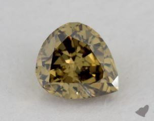 pear0.24 Carat fancy deep grayish greenish yellowI1