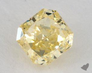 radiant1.05 Carat fancy intense yellowI1