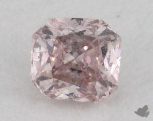 radiant0.16 Carat fancy pinkSI2