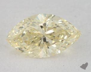 marquise1.06 Carat fancy light yellowI1