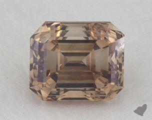 emerald1.52 Carat fancy dark orangy brownSI2