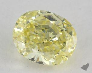 cushion1.54 Carat fancy intense yellowSI1