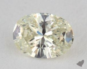 oval0.34 Carat light yellowVS2