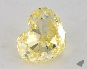 heart0.92 Carat fancy intense yellowSI1
