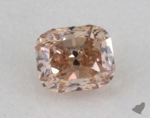 cushion0.20 Carat fancy brownSI2