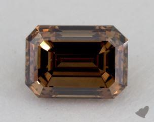 emerald1.35 Carat fancy dark orangy brownSI1