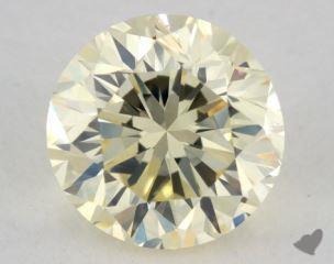 round1.50 Carat light yellowSI1