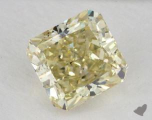 radiant1.76 Carat fancy yellowSI2