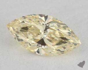 marquise0.79 Carat fancy light yellowSI1