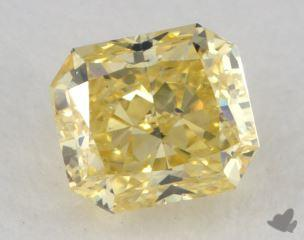 radiant0.73 Carat fancy intense yellowSI2