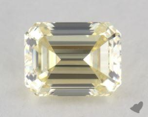 emerald1.01 Carat light yellowVS2