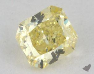 radiant0.45 Carat fancy intense yellowI1
