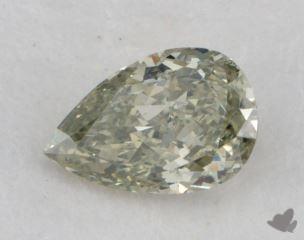 pear0.40 Carat fancy yellowish greenSI2