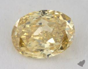 oval0.36 Carat fancy intense yellowSI2