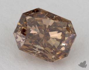 radiant2.10 Carat fancy orange brownSI2
