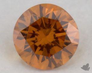 round0.20 Carat fancy deep yellowish orangeSI1