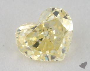 heart0.18 Carat fancy light yellowI1