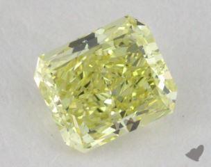 radiant0.60 Carat fancy yellowVS2