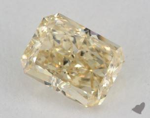 radiant1.50 Carat fancy light brownish yellowVS2
