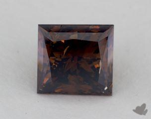 princess3.09 Carat fancy dark orangy brownI1