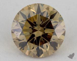 round2.01 Carat fancy yellowish brownSI2