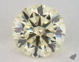round0.70 Carat light yellowSI1