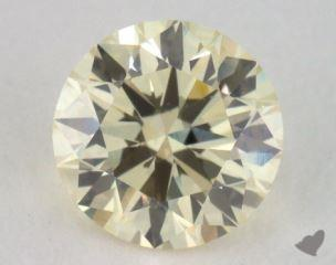 round0.70 Carat light yellowVS2