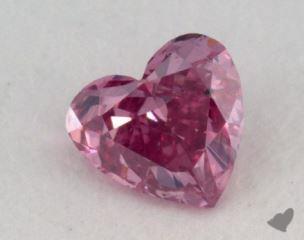 heart0.06 Carat fancy vivid purplish pink