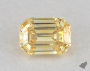 emerald0.16 Carat fancy vivid yellowVS2