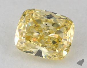 cushion0.94 Carat  yellowSI1